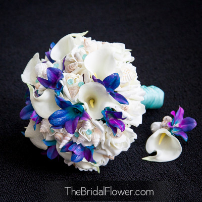 purple orchids cream roses calla lily tiffany blue pins wanda purple blue orchids