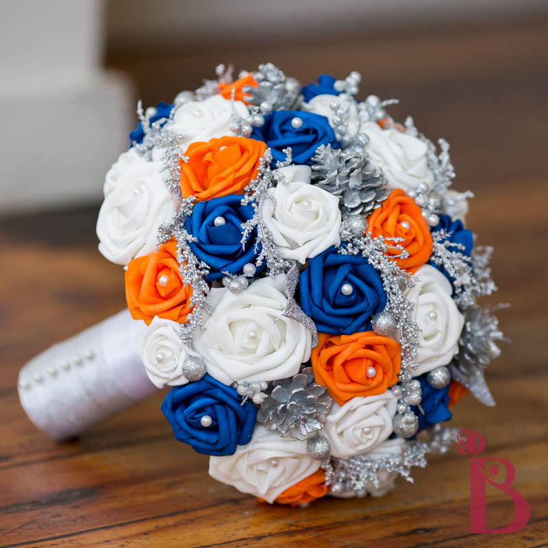 Wedding Bouquets Orange And Blue: Best ideas about orange ...