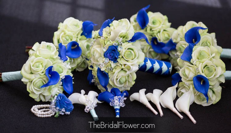 8 Best Images Of Tall Wedding Centerpieces Royal Blue