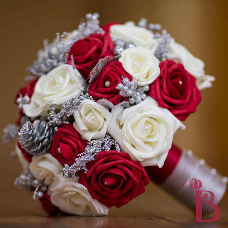 Wedding Bouquets Red And Cream Winter Bouquet Lg More Colors The