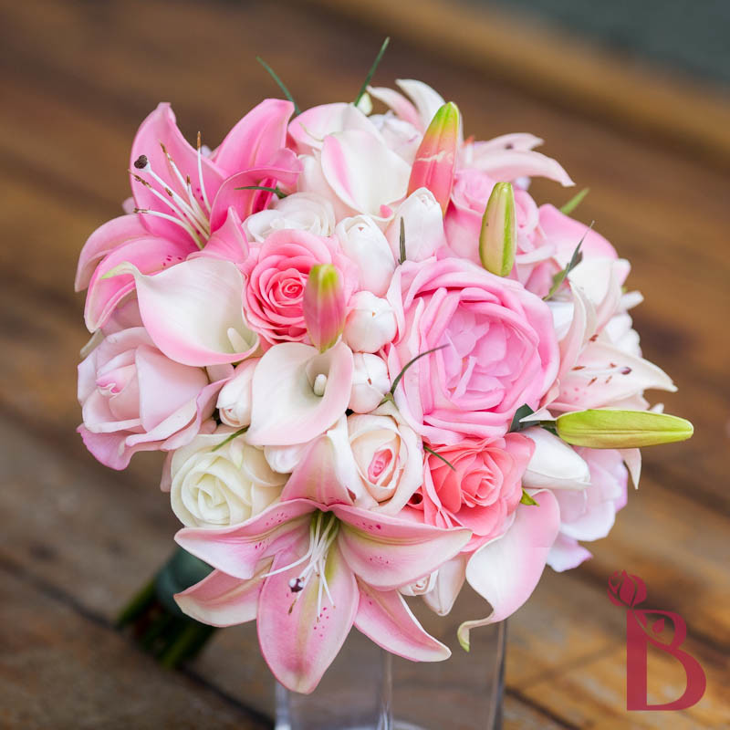 Home > Bouquets > Real & Natural touch bouquets > Roses tulips lilies ...