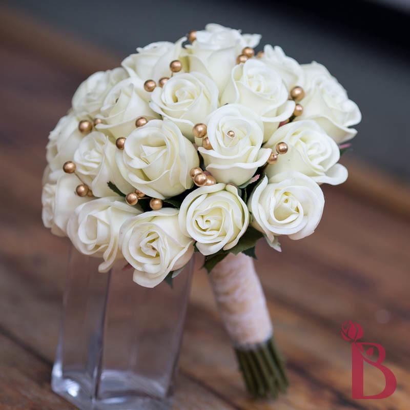 Cream old gold vintage bouquet lg more colors the bridal flower