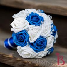 unique wedding bouquet realistic look roses high quality wedding bouquet