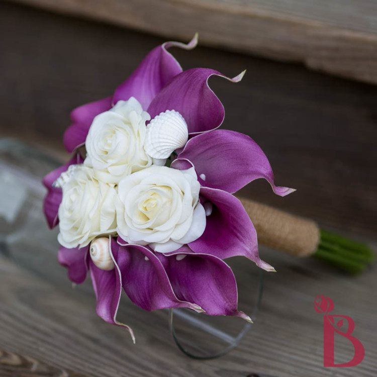 Hand Made Top Quality Luxurious Brooch Bride Bridal Wedding Bouquet Brides Maid Europe Us Calla Lily