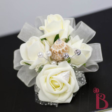 silk wrist corsage for wedding prom mother grandmother girlfriend tie corsage