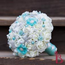 silk brooch bouquet quality usa handmade vermont brooch bouquet