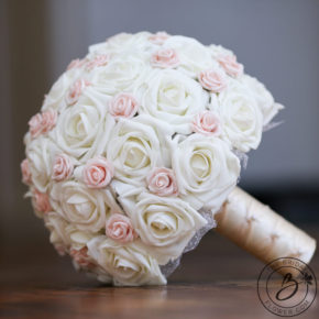 Simple Wedding Bouquets Real Touch Handcrafted By The Bridal Flower